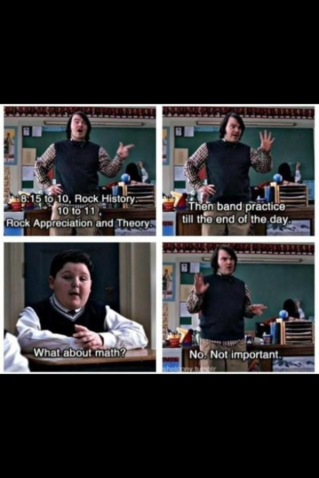 I Like It Movie Quotes School Of Rock Funny Movies