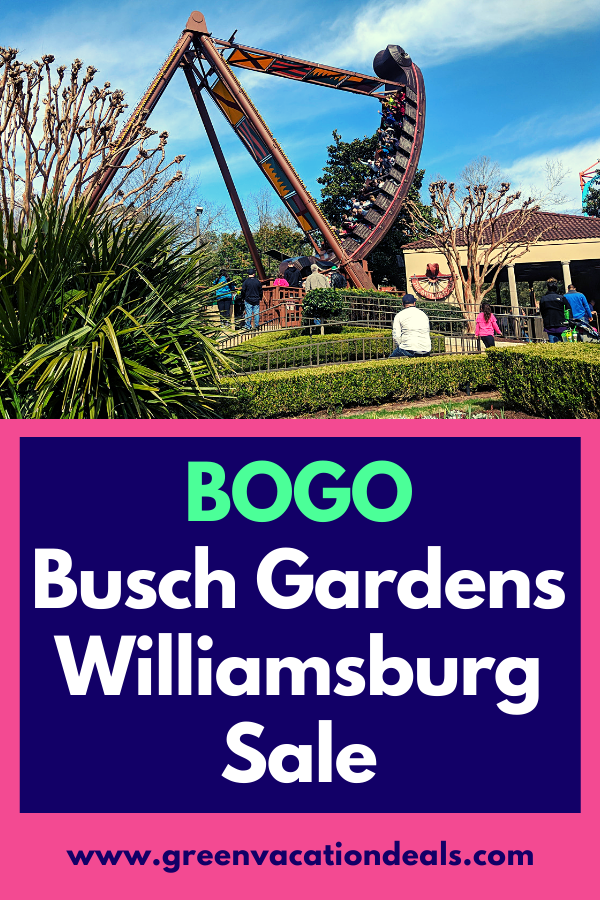 Busch Gardens Howl O Scream Williamsburg Discount
