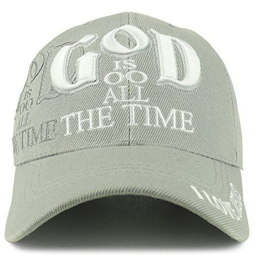 3f45eb56ab7 Trendy Apparel Shop God Is Good All The Time Christian Theme Embroidered  Adjustable Baseball Cap