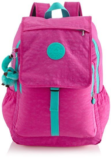 Kipling Casual Daypack Haruko 25 liters Rose (Breezy Pink) K15377B17  Amazon .co.uk  Luggage 7a9b17510e7a4
