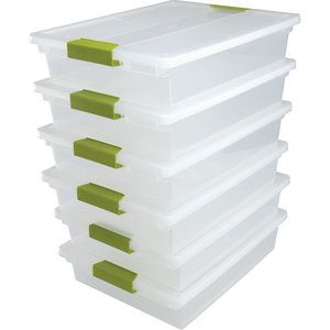 Group Materials Stackable Trays Want To Use These For Letter Of The Week Materials Math Workshop Organization Kids Classroom Decor Really Good Stuff