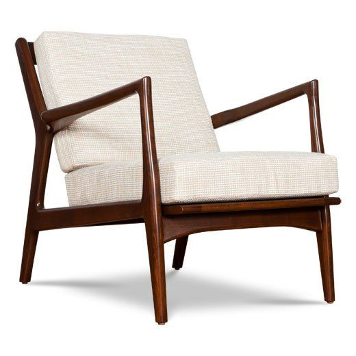 Eisenhower Mid Century Modern Chair By Thrive Home Furnishings