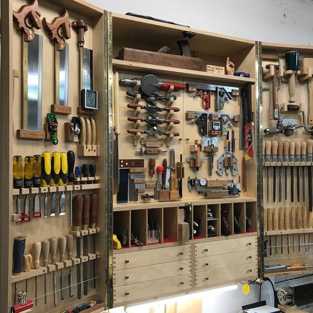 Inhim [ Woodworking 그안 스튜디오 木工所 ] : Tool Cabinet (13