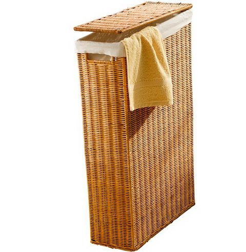 Laundry Basket In The Bathroom Bathroom Laundry Baskets Slim Laundry Basket Small Bathroom Storage Solutions