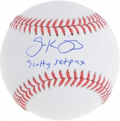 bdf52c996f2 Scott Kingery Philadelphia Phillies Autographed Baseball   Scotty Jetpacks  Insc  Baseball  baseballonline