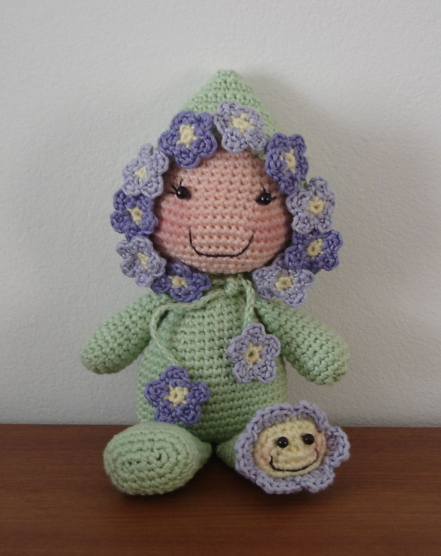 Rice stuffed dolls - Beyond cute. Must make this Flower baby.