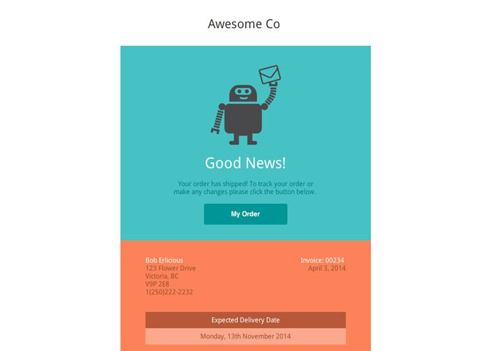 30 Sites to Download Open-source Email Templates floki - confirmation email template