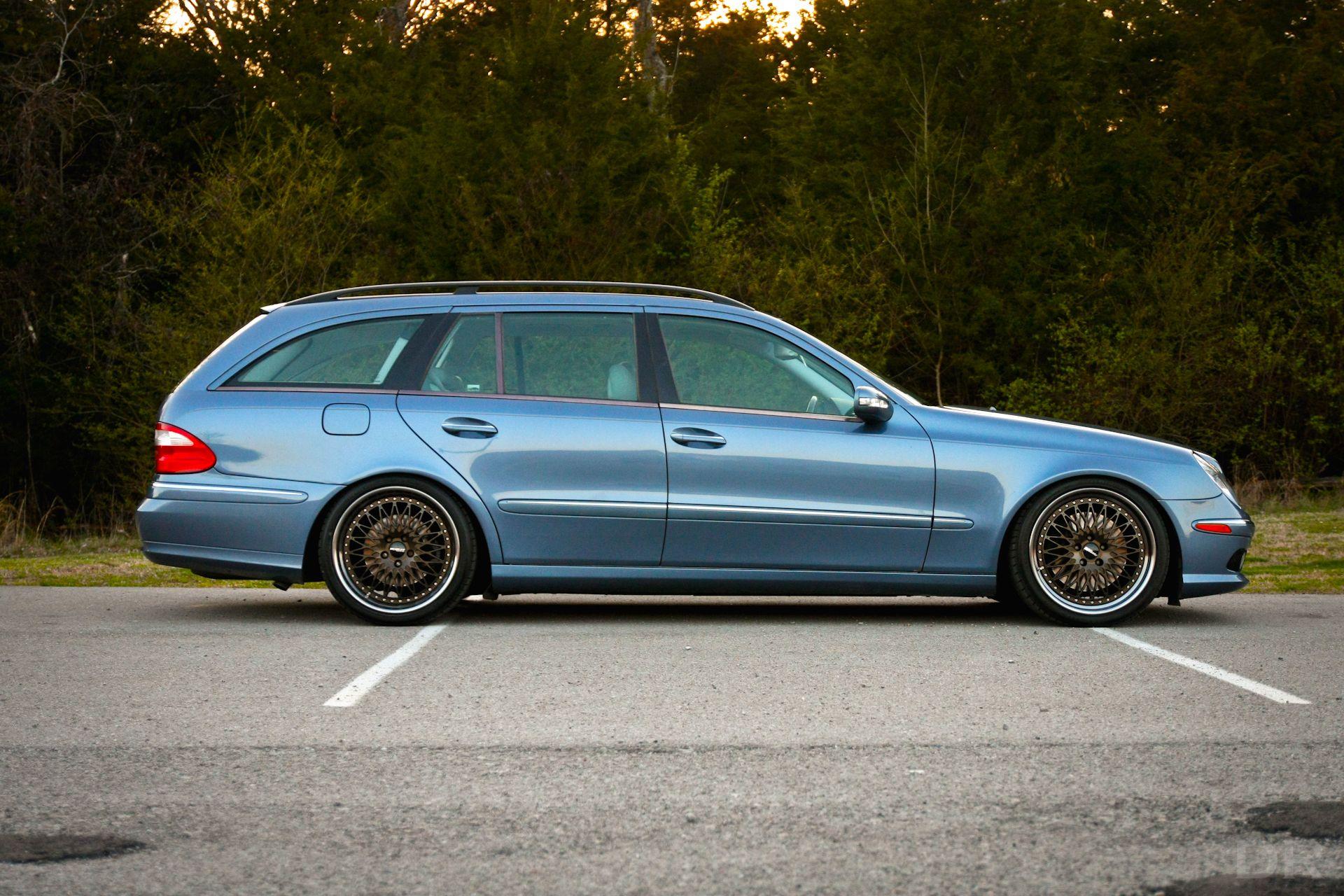 Mercedes benz e500 estate benzo pinterest shop truck for Mercedes benz e500 wagon