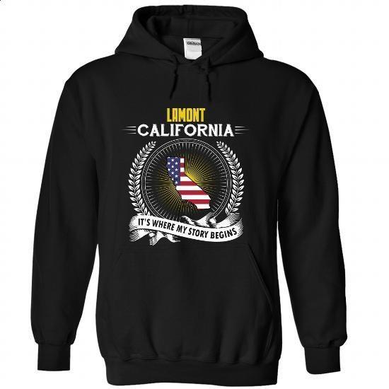 Born in LAMONT-CALIFORNIA V01 - #hoodie schnittmuster #estampadas sweatshirt. GET YOURS => https://www.sunfrog.com/States/Born-in-LAMONT-2DCALIFORNIA-V01-Black-Hoodie.html?68278