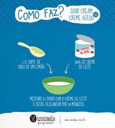Photo of Infográfico 13: Como faz Sour Cream – Mixidão