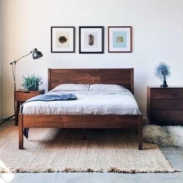 Berkeley Bedframe Headboard By Hedge House Walnut Bed Frame