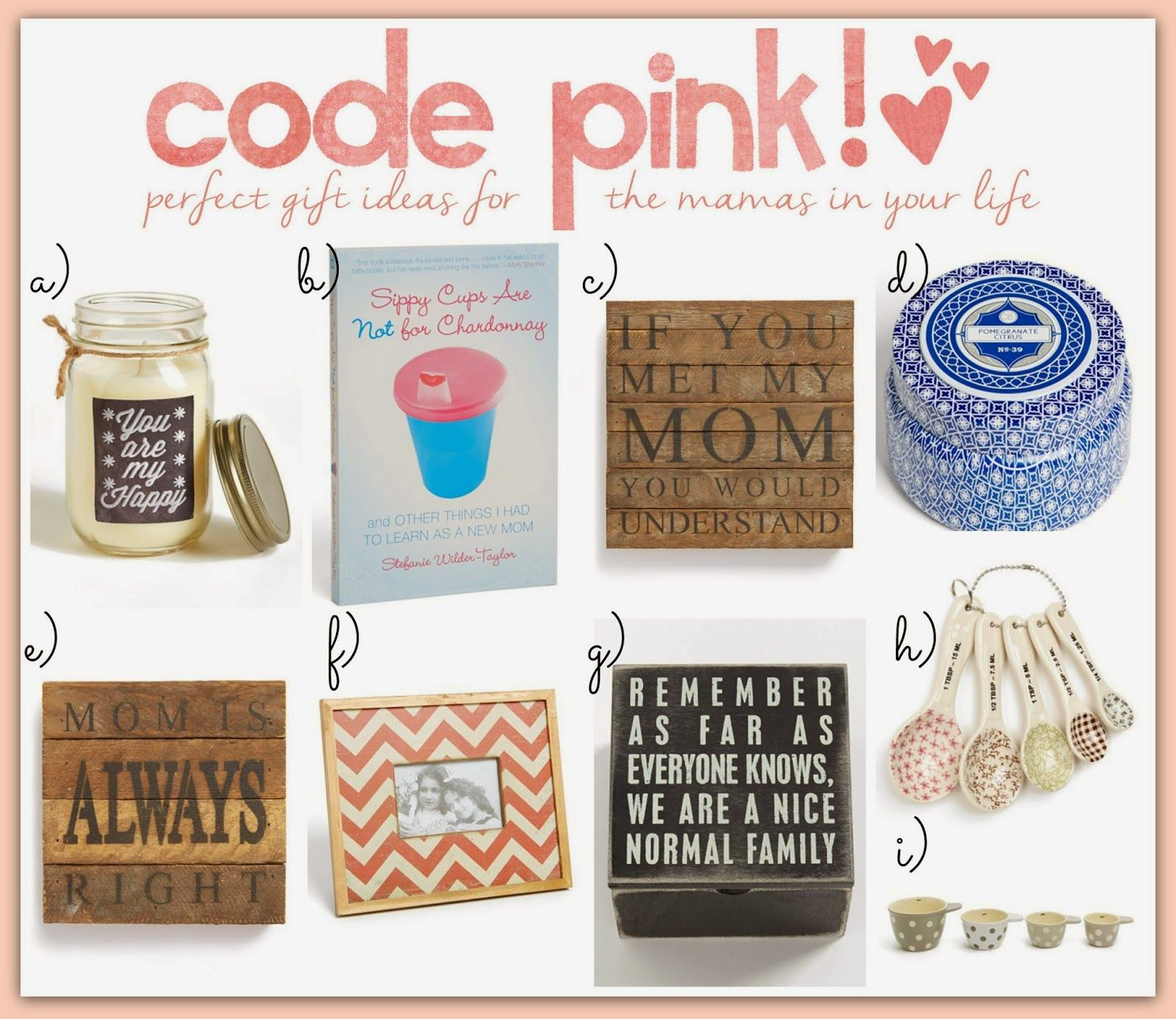 Mother's Day gifts UNDER $25!!!