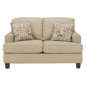Deshan Loveseat In Birch Nebraska Furniture Mart Love Seat Buy Home Furniture Furniture