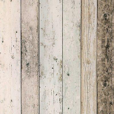 Details zu Vliestapete Holz-Optik Planken beige grau AS Creation