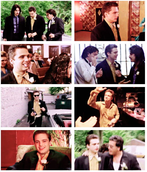 Sebastian Stan In Tony N Tina S Wedding 2004 Joey Mcintyre Sebastian Stan Jon Bernthal