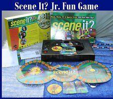 Scene It Jr Dvd Game Games Dvd Junior