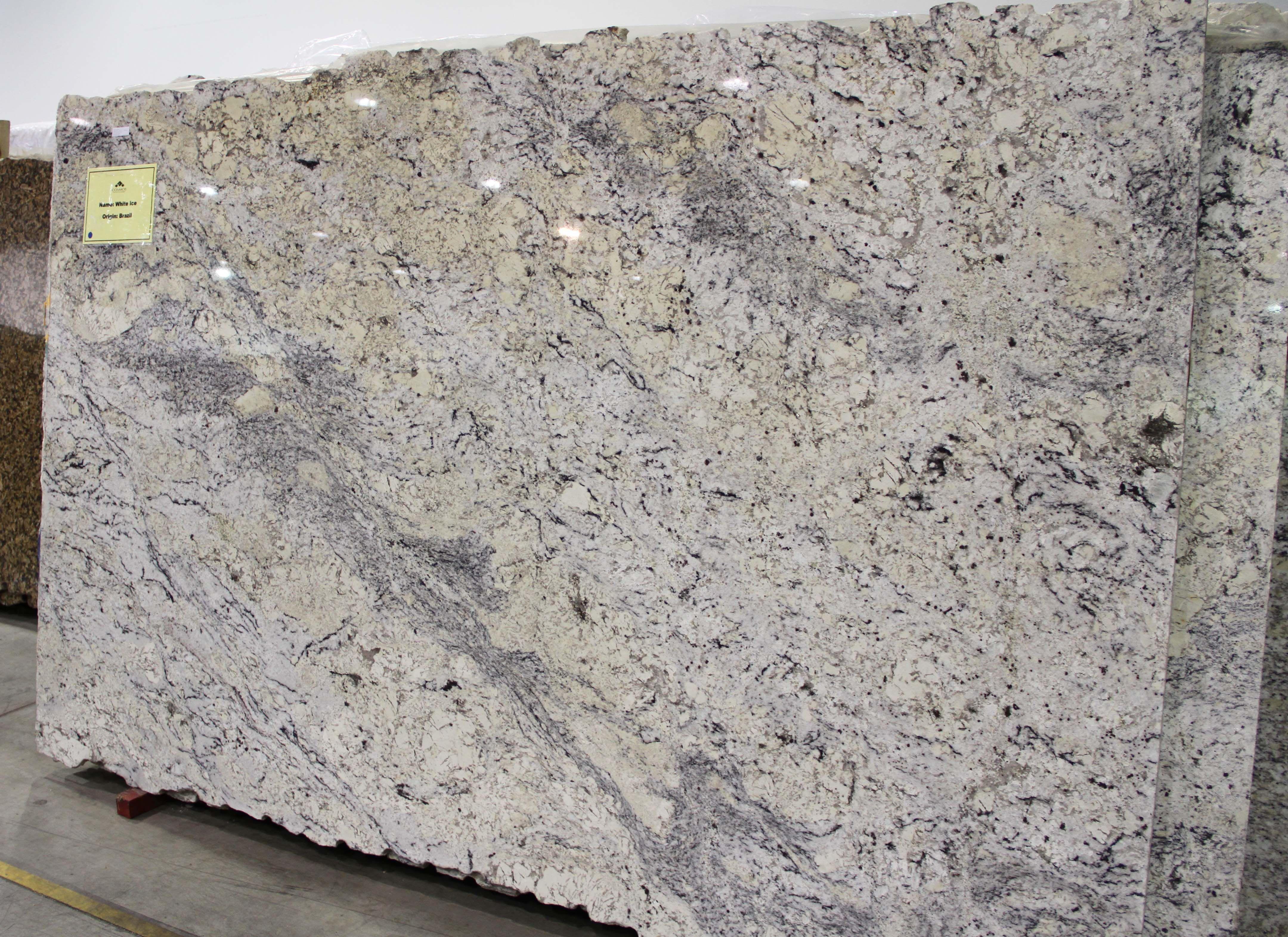 While We Often Think Of Granite Countertops As A Kitchen Staple - White ice granite kitchen bathroom countertops