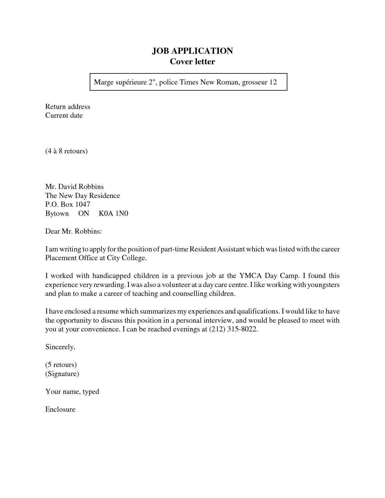 Valid How to Write A Introduction Letter for A Job you can