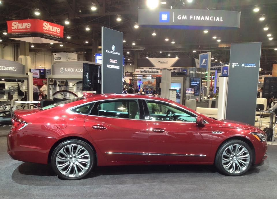 New Buick LaCrosse At National Auto Dealers Association In - Buick auto dealers