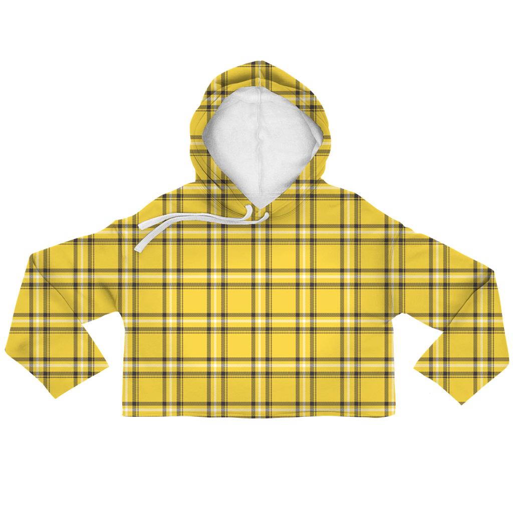 84ad82935 Clueless Plaid Crop Hoodie | paycheck | Pinterest | Cropped hoodie ...