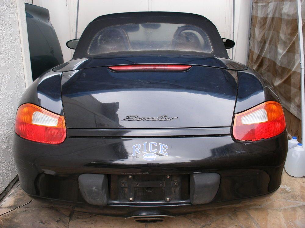 EBay 1999 Porsche Boxster 99 PORSCHE BOXSTER BLACK 5 SPEED WITH TURBO TWIST WHEELS