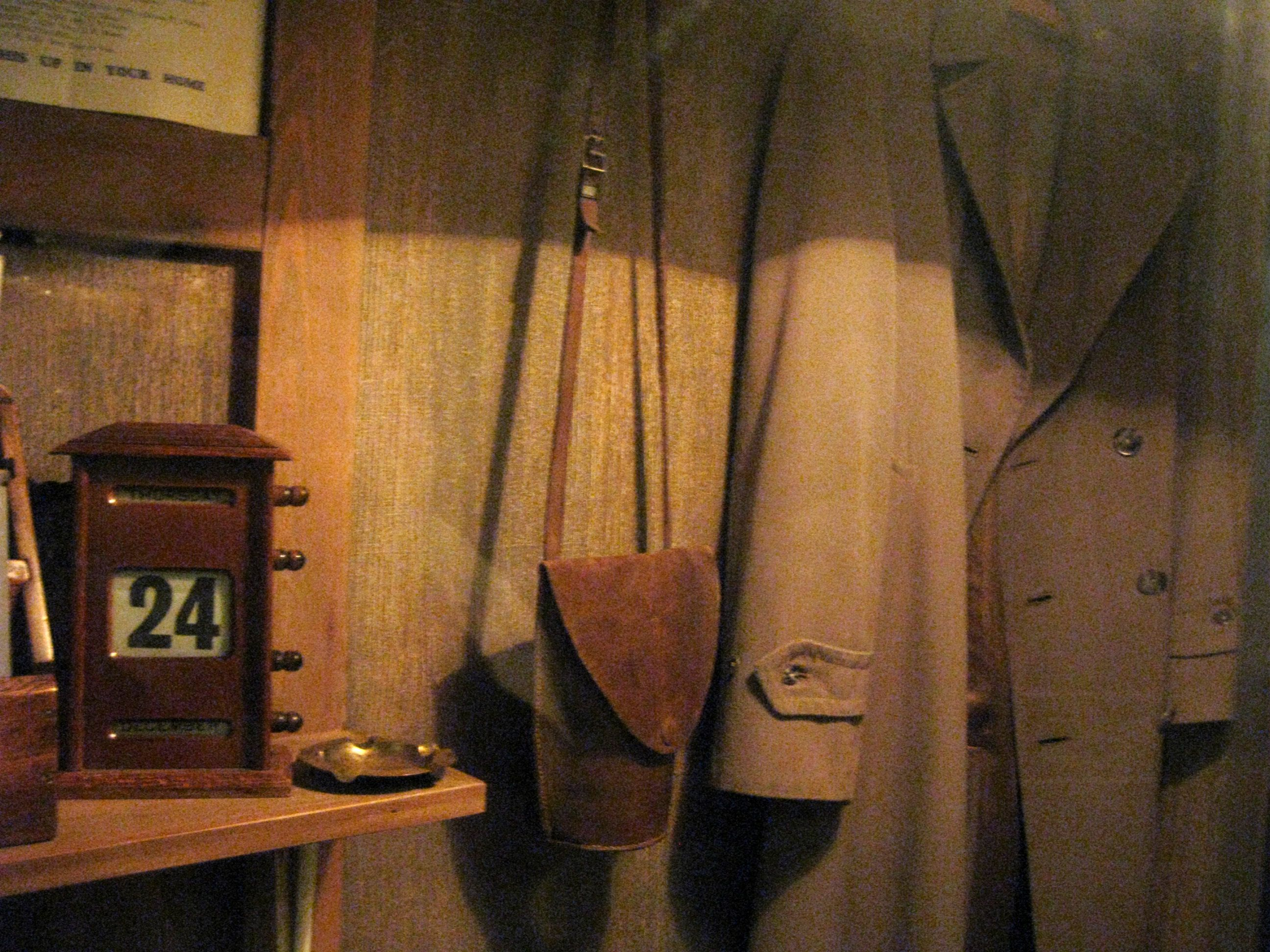 World War Two coat and paraphernalia. #forties #history #worldwartwo #wwii #londonblitz #homefront
