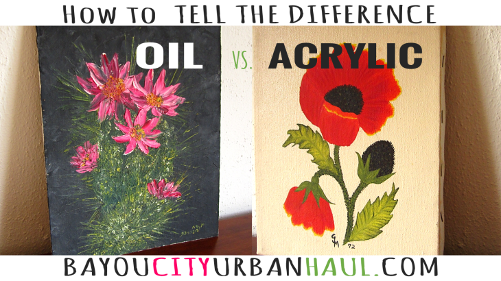 Acrylic vs. Oil Paintings