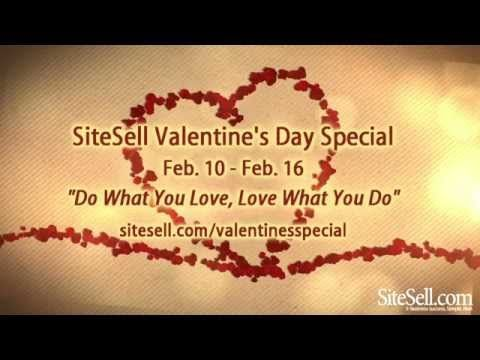 SiteSell Valentine's Day Special!