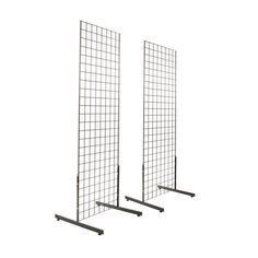 Free 2-day shipping on qualified orders over $35. Buy 2 x 6 Black Gridwall Panel Tower with T-Base Floorstanding Display Kit (2Pk) at Walmart.com