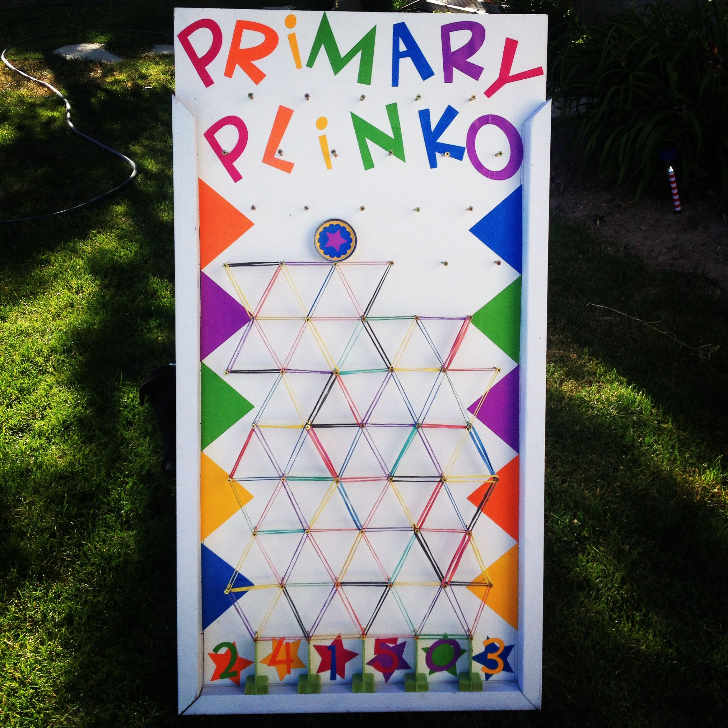 Diy plinko game 4x2 this one is for music time in primary diy plinko game 4x2 this one is for music time in primary childrens sunday school puck slides down under the bands where it lands depicts the song solutioingenieria Choice Image