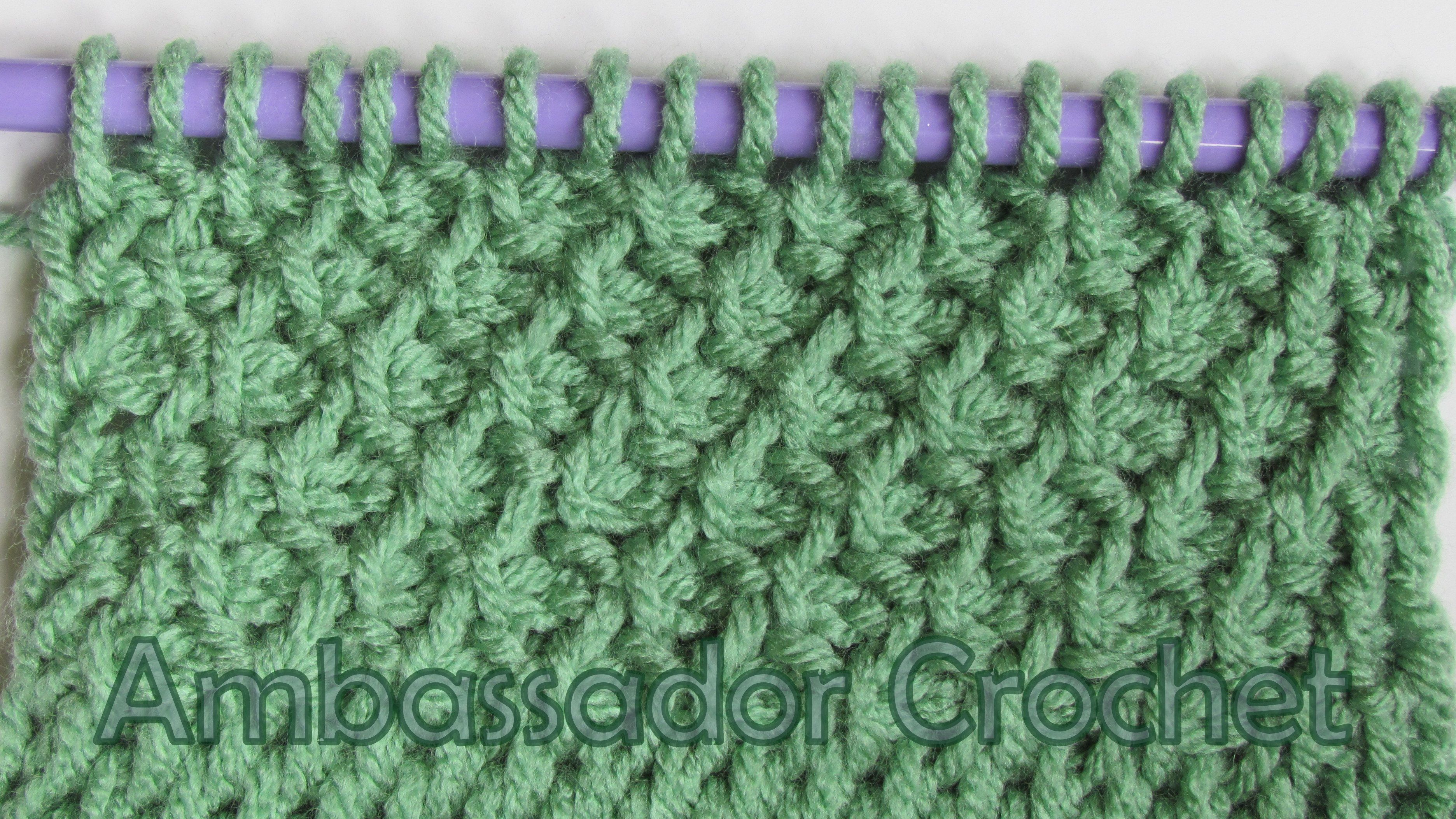 tunisian honeycomb stitch tutorial | Tunisian Crochet | Pinterest ...