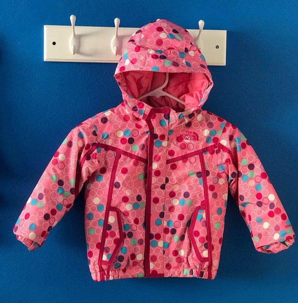 The North Face Hyvent Toddler Girls Pink Print Snow Winter Jacket Sizs 3t Thenorthface Jacket North Face Hyvent Winter Jackets Pink Print [ 1000 x 983 Pixel ]