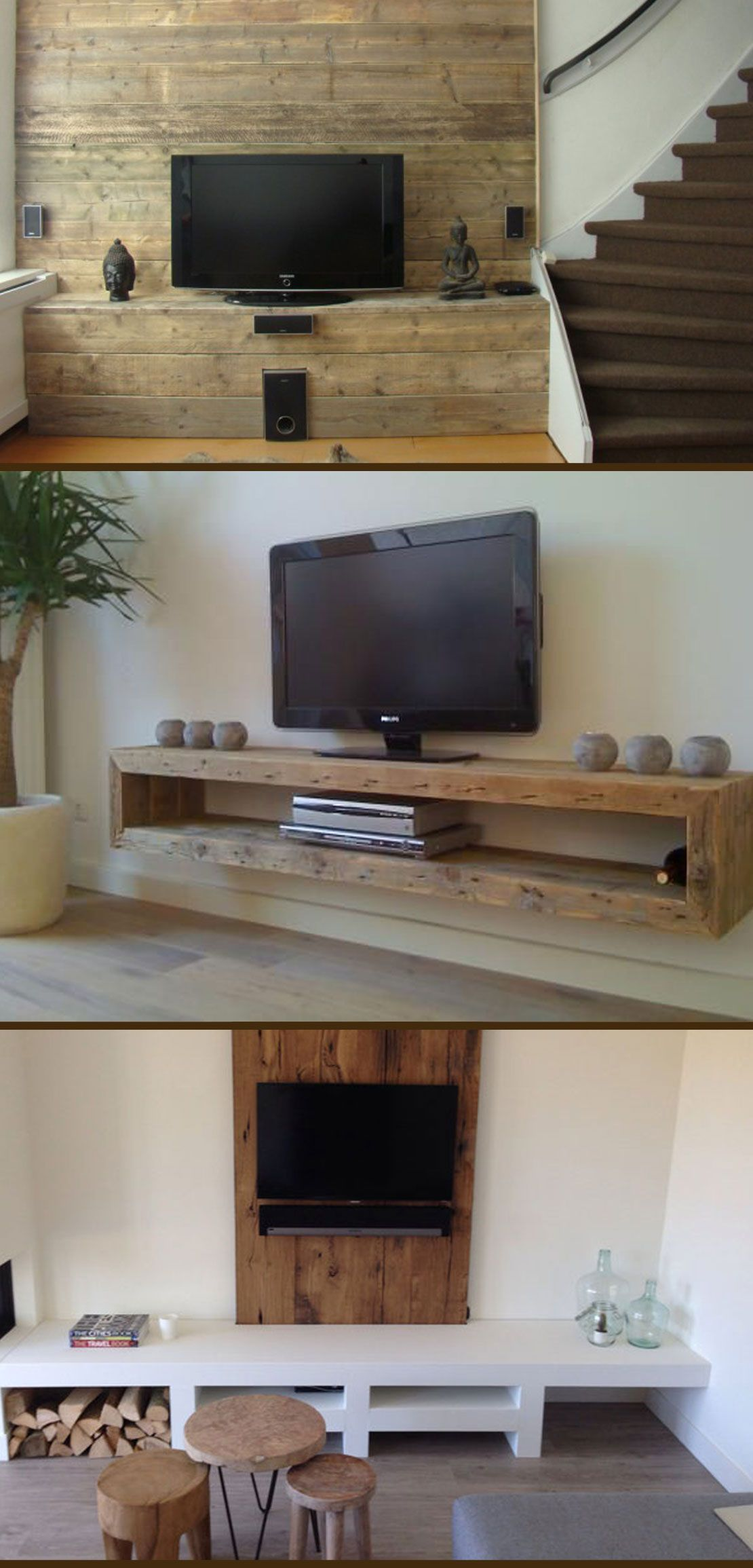 Amazing Rustic Home Decor Ideas You Can Build Yourself. Best tv ...