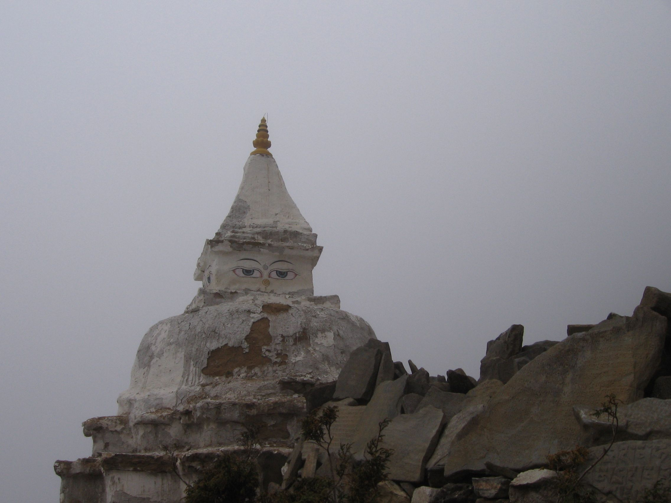 Mystical Nepal: trekking from Mt. Everest Base Camp down to Tengboche Monastery.