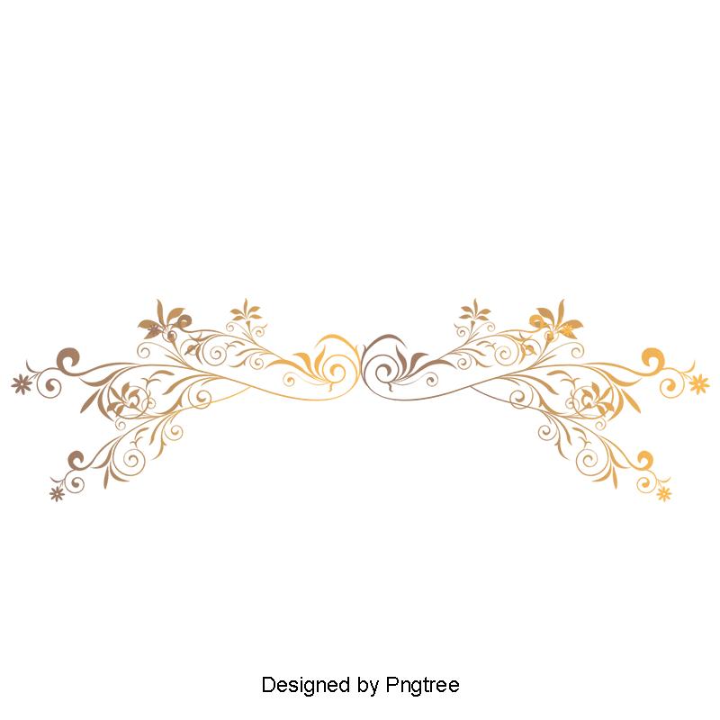 European Gold Frame Vector Lines Border Vector Continental Line Golden Png Transparent Clipart Image And Psd File For Free Download Bingkai Garis Desain