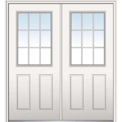 60 X 80 Fibergl Doors Front The Home Depot