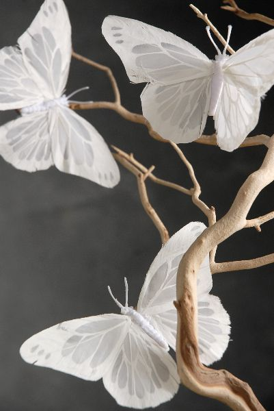 10 hot wedding trends for 2013 3 paper lanterns for White paper butterflies