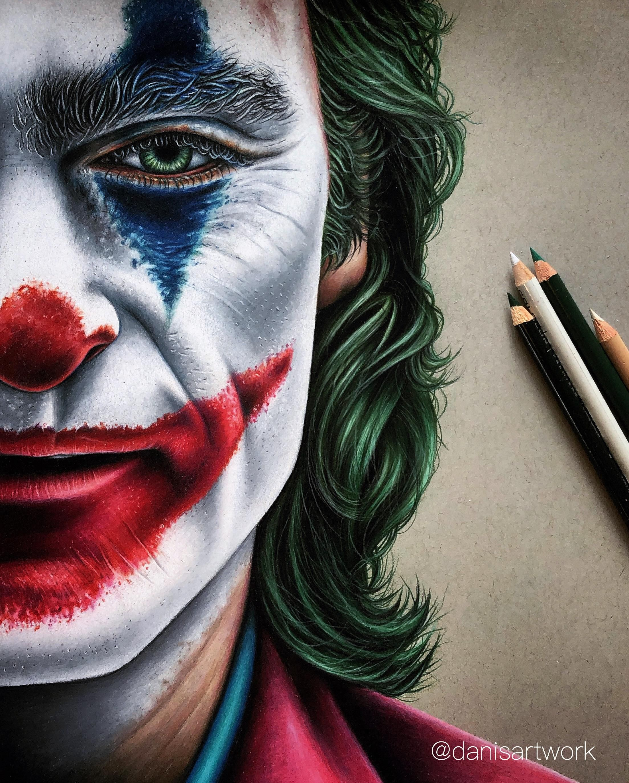 Really Proud Of My Finished Coloured Pencil Drawing Of The Joker Latest Pictures Https Ift Tt 2p3yjmz Joker Art Drawing Color Pencil Sketch Joker Drawings