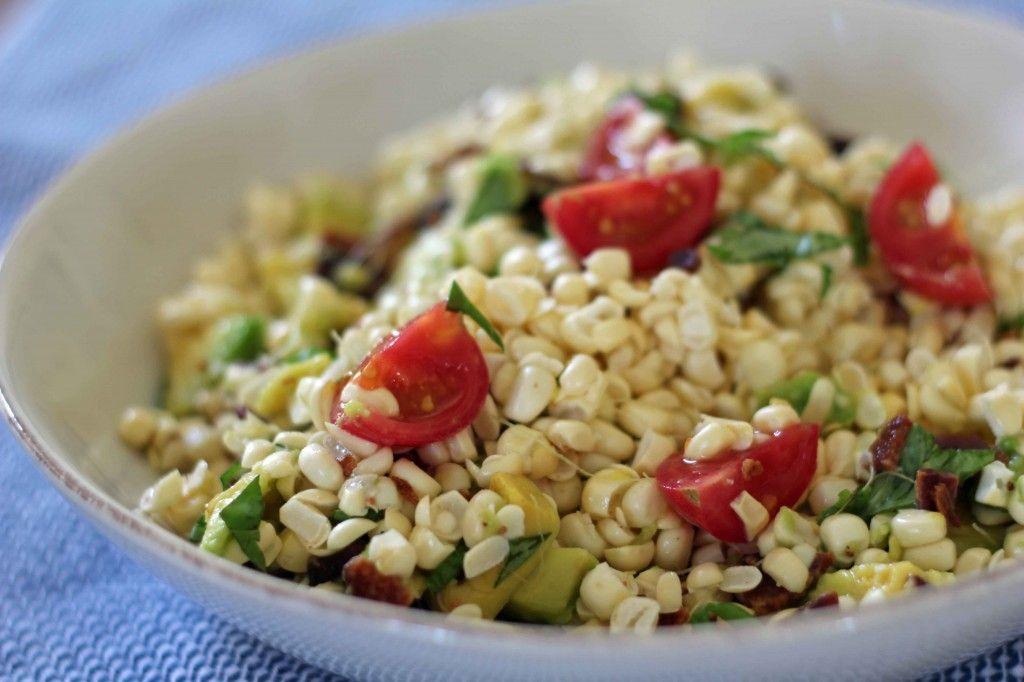 Bacon, Avocado & Corn Salad #TheSaladBar