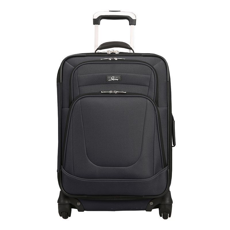 Skyway Epic 20-Inch Carry-On Luggage, Black