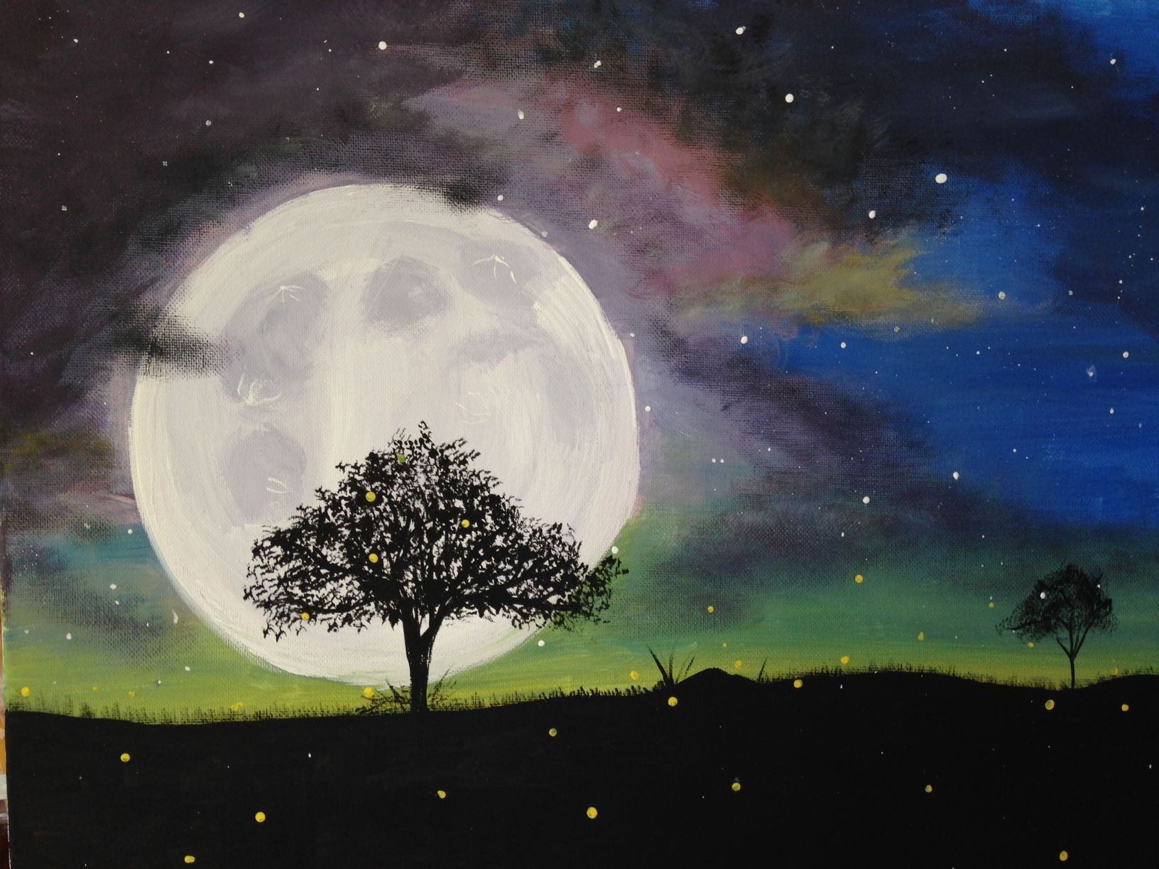 Mystic Moon Paint Nite Baltimore El Rodeo In Edgewater