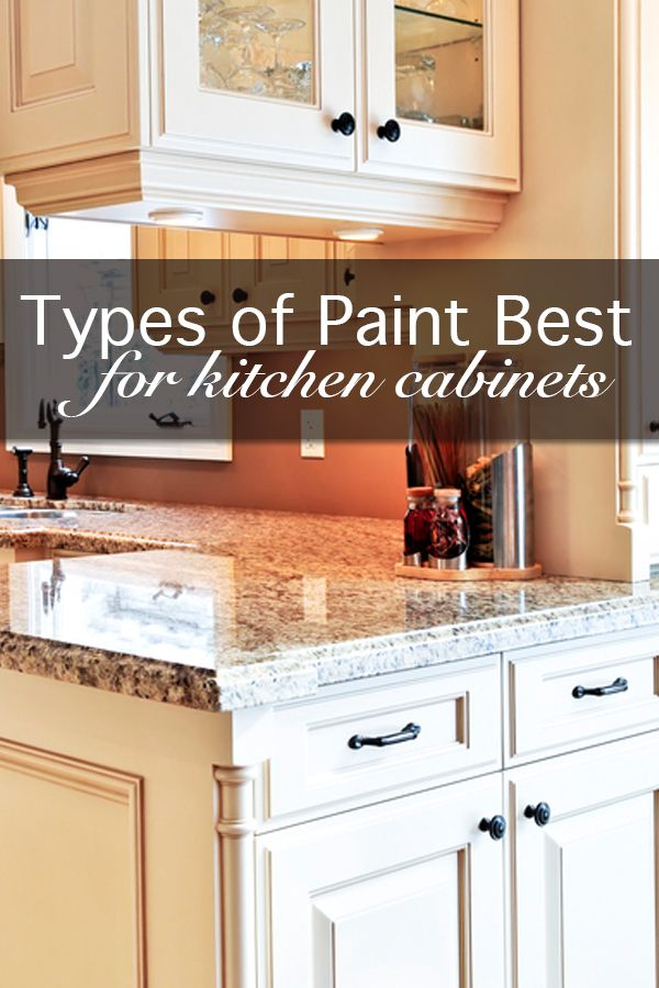Types of paint best for painting kitchen cabinets for Best way to paint kitchen cabinets video
