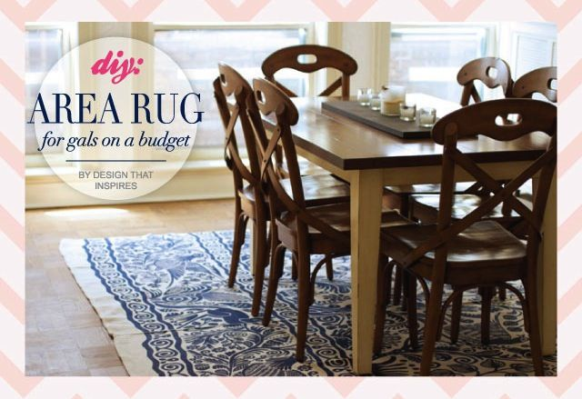 Diy Large Area Rug Rugs