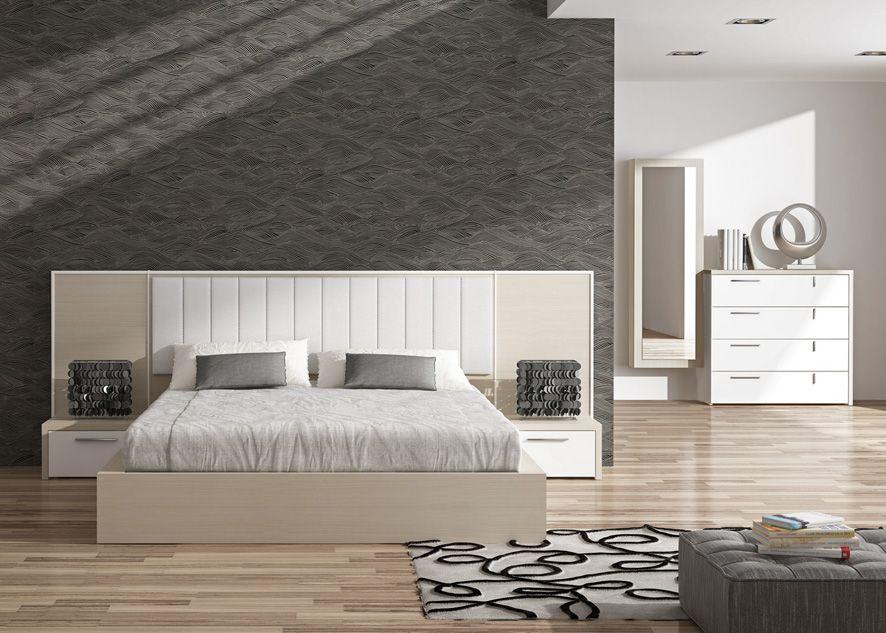 Cabeceros de madera tapizados modelo silky decoraci n beltr n mobiliario de dise o en madera - Cabeceros de diseno ...