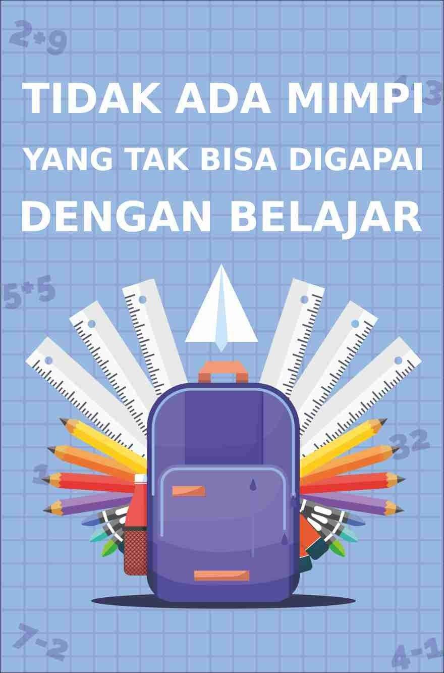 Gambar Poster Yang Mudah Digambar Gambar Poster Belajar