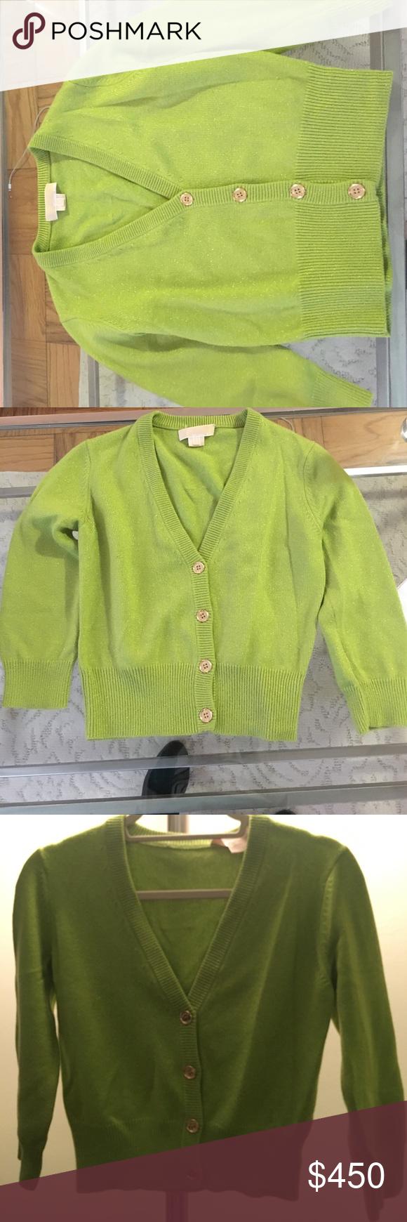 Michael Kors cashmere cardigan | Sweater cardigan, I am and The o'jays