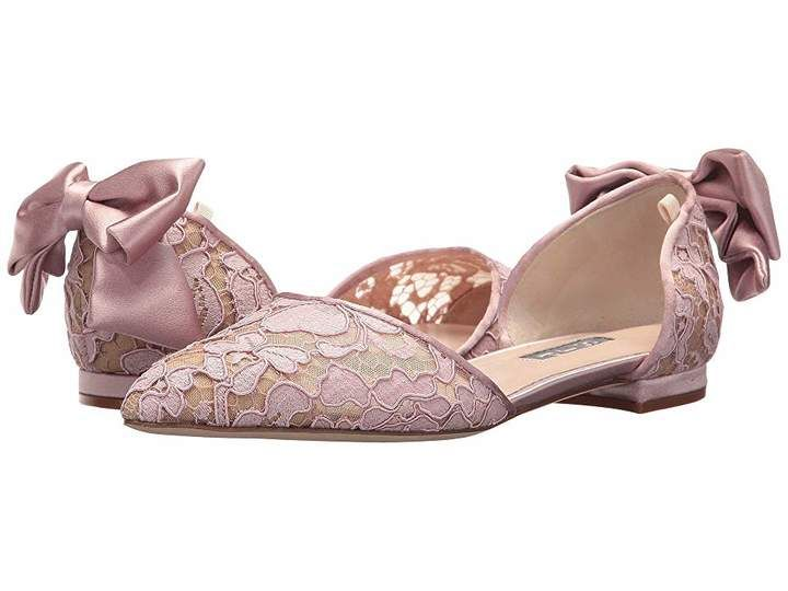 SJP by Sarah Jessica Parker Leather Awaken in Nude Lace
