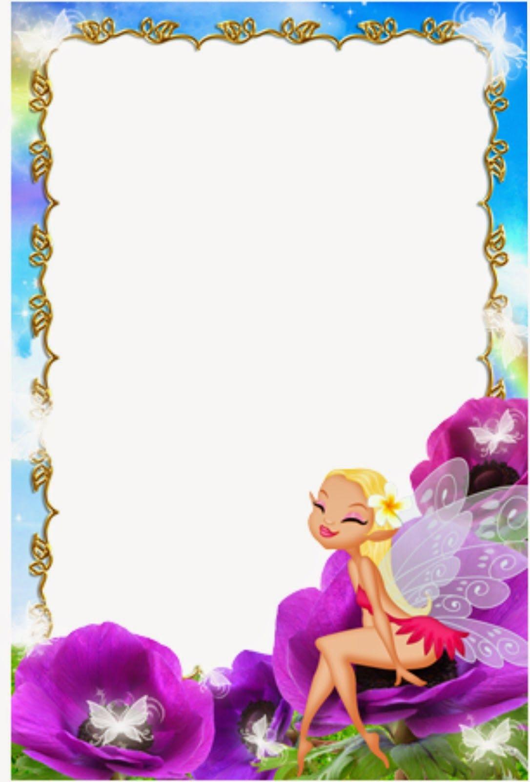 Caratula para cuaderno de niñas de kinder - Caratulas de Adas Madrinas