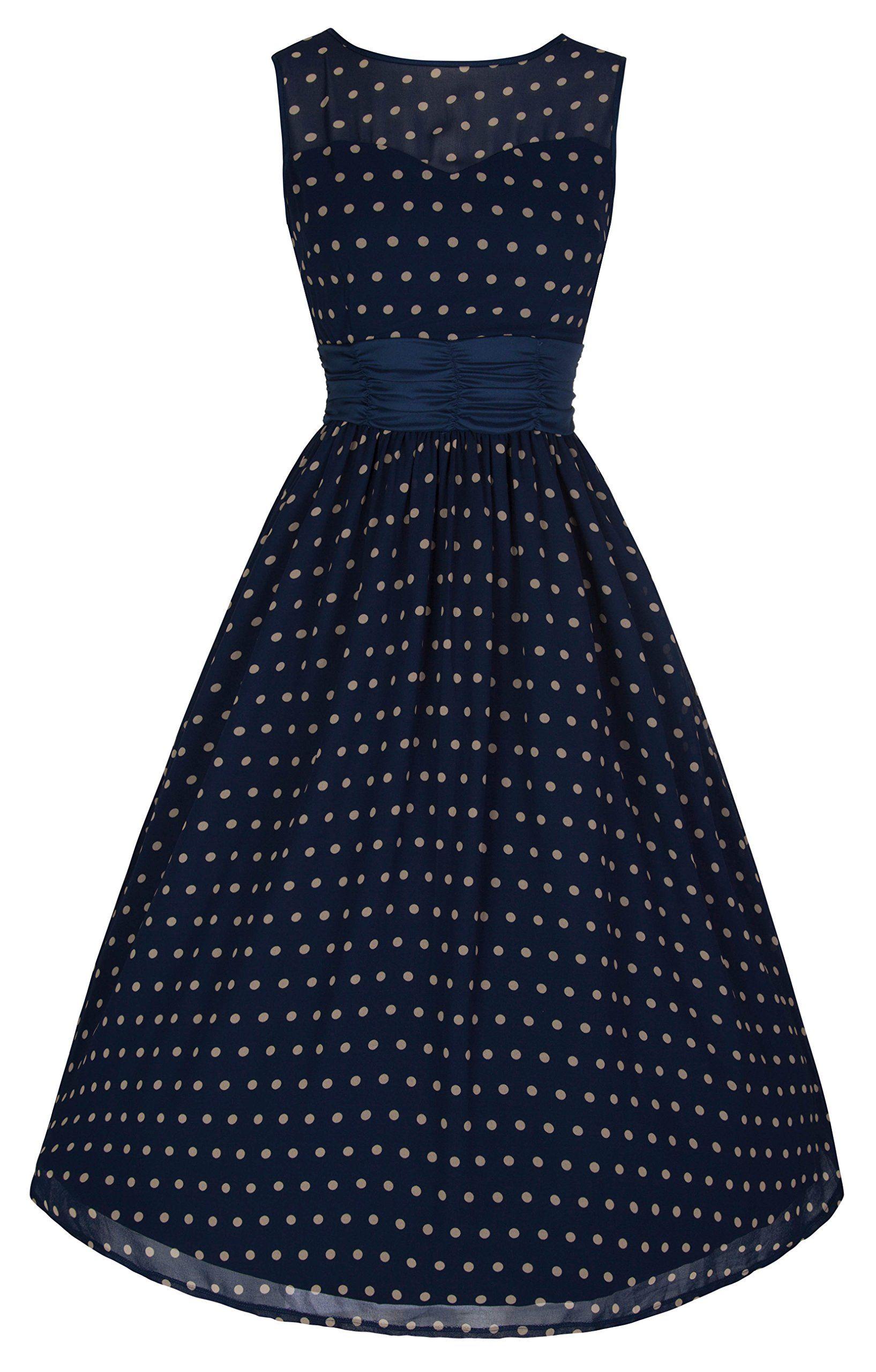 Lindy Bop Cindy Vintage 50 S Classy Yet Sassy Polka Dot Party Dress At Amazon Women S Clothing Store Dresses Party Dress Womens Midi Dresses [ 2560 x 1635 Pixel ]