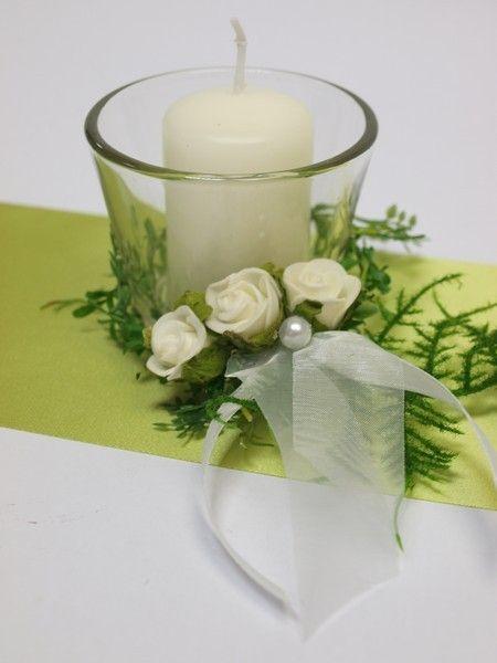 Kerzen Deko Konfirmation Tischschmuck Hochzeit Und Hochzeit